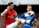 Gervinho helps Arsenal thrash Reading 4-1