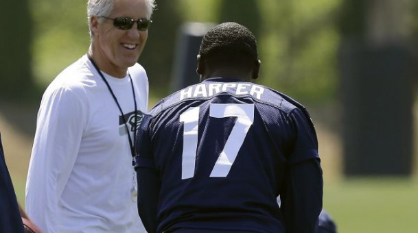 Chris Harper, Luke Willson impress as pass catchers during Seahawks rookie minicamp